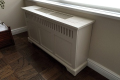 Charleston Style Radiator Cover w/ Hotel Louvers and Access Lids