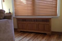 Charleston Style Wood Radiator Cover